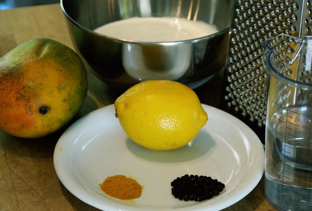 Mango Lassi - Die Zutaten