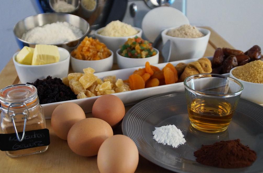 Adventskranz Kuchen - Die Zutaten
