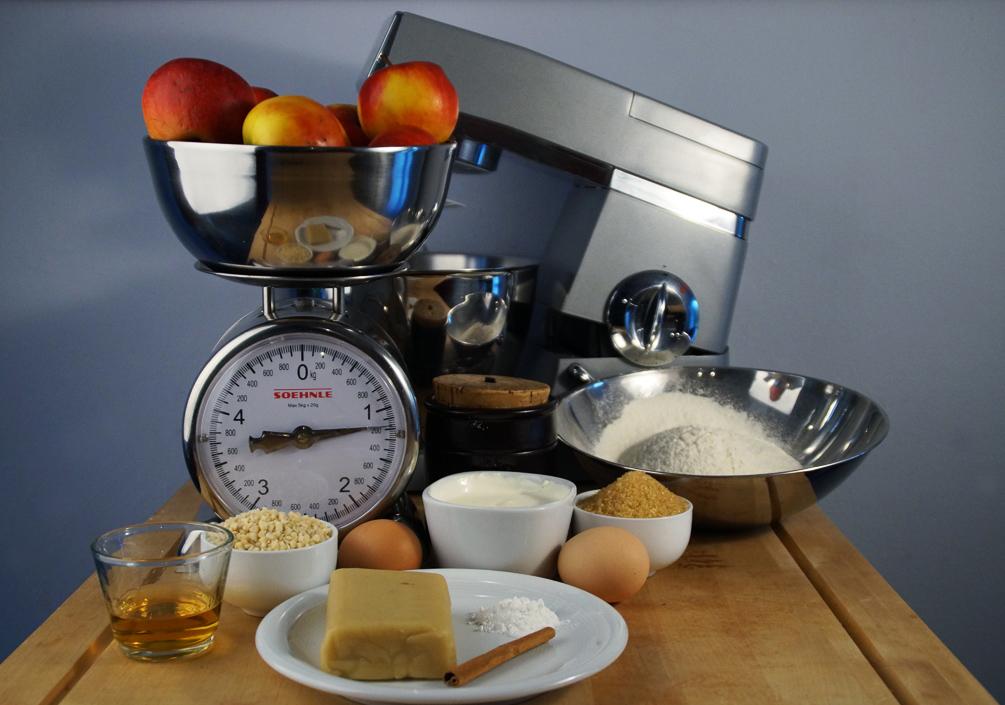 Bratapfelkuchen - Die Zutaten