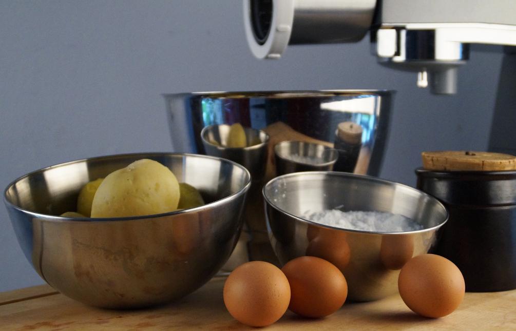Kartoffelklöße - Die Zutaten