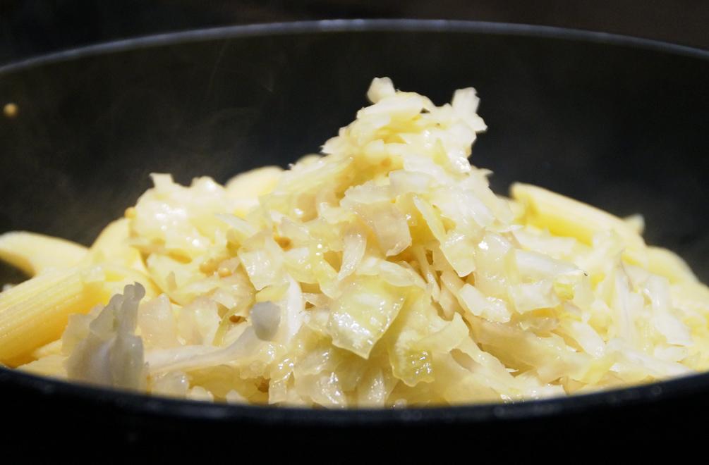 Sauerkrautpasta Rezept