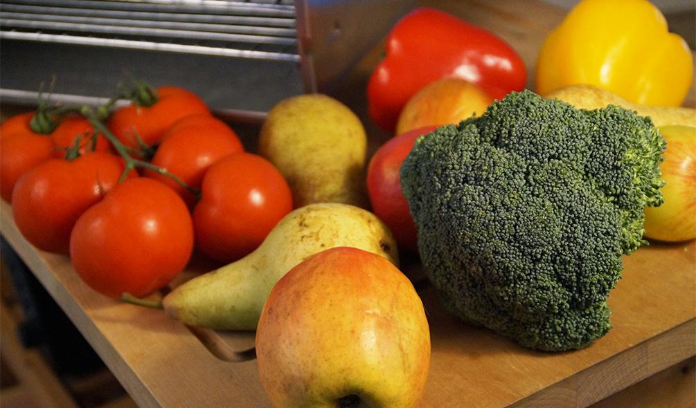 Gemüse dörren