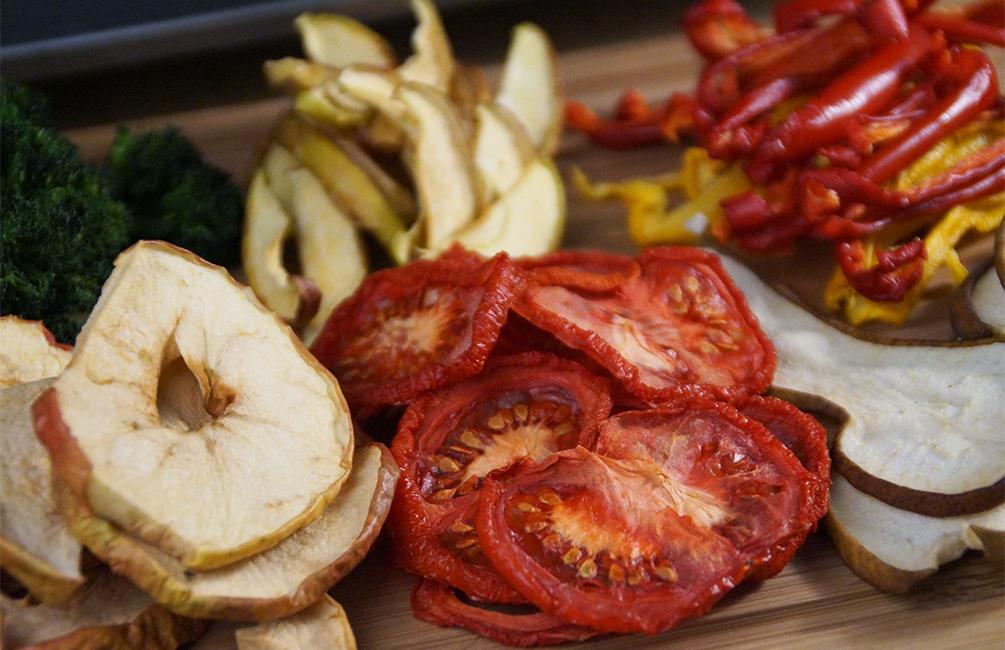 Trocknen - Getrocknetes Obst und Gemüse