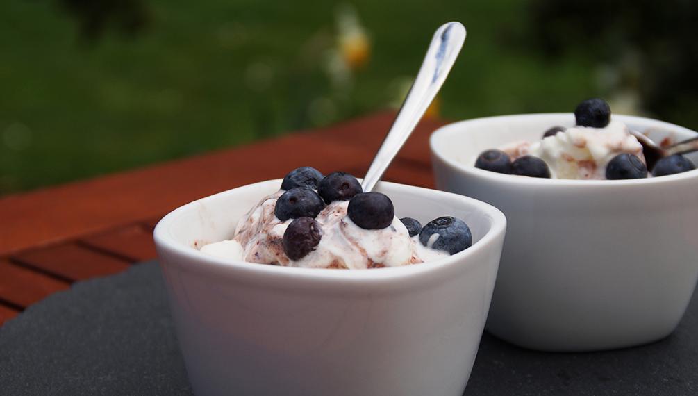 Joghurteis selber machen