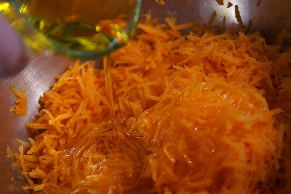 Karottenbrot mit Chiasamen