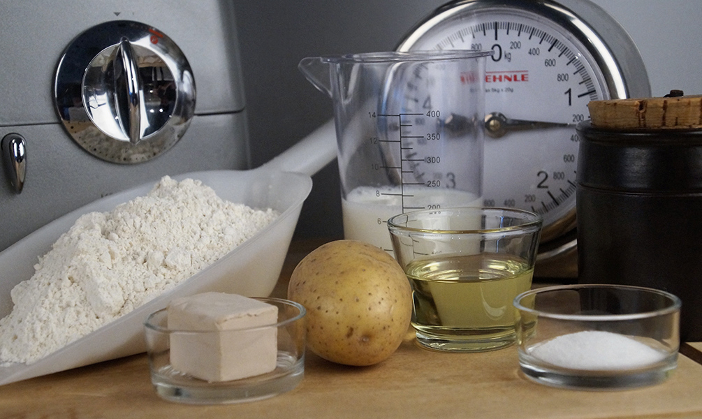 Kartoffelbrot Rezept Zutaten