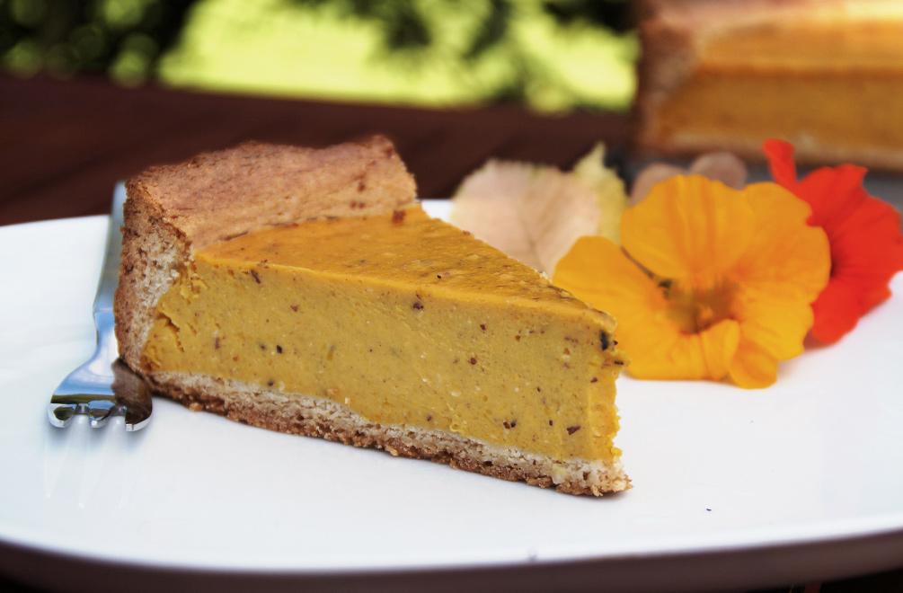 Kurbiskuchen Mit Quark Rezept Fein Und Fruchtig