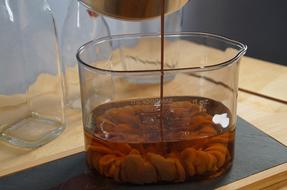 Schokolikör mit Whisky