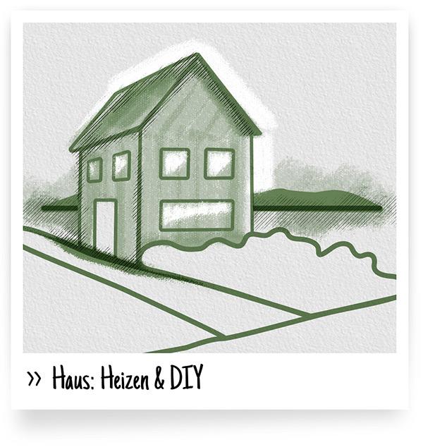 Haus: Heizen, DIY und selber machen