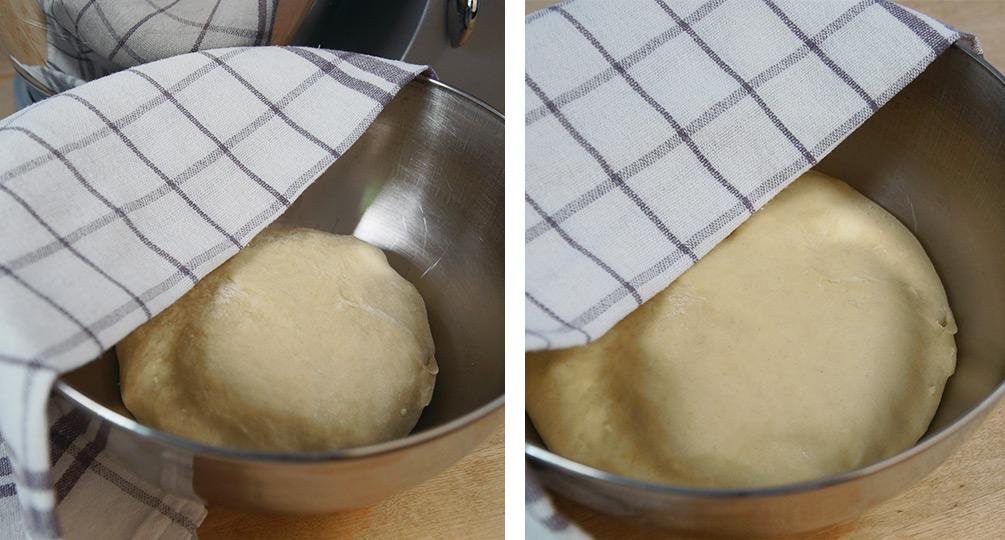 Kuchen mit Rhabarber und Quark