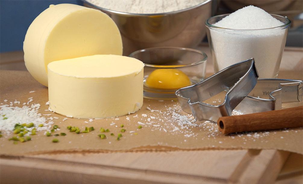 Butterplätzchen Zutaten