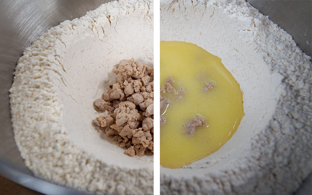 Osterbrötchen Teig