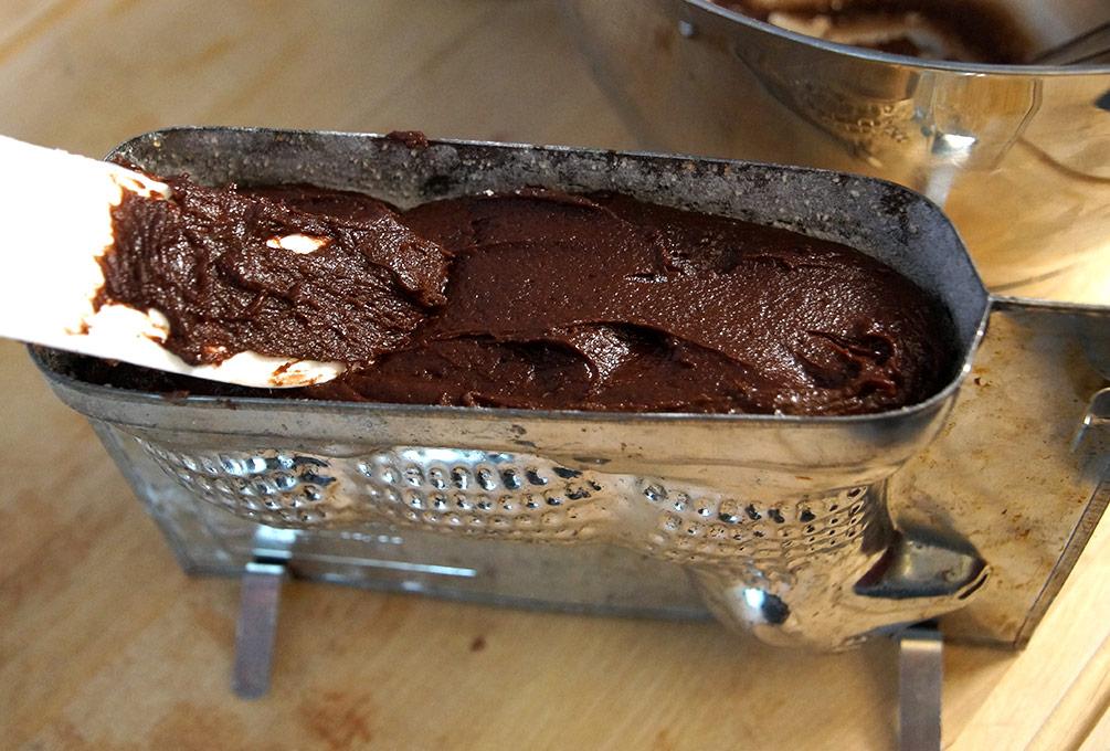 Osterlamm mit Schokolade